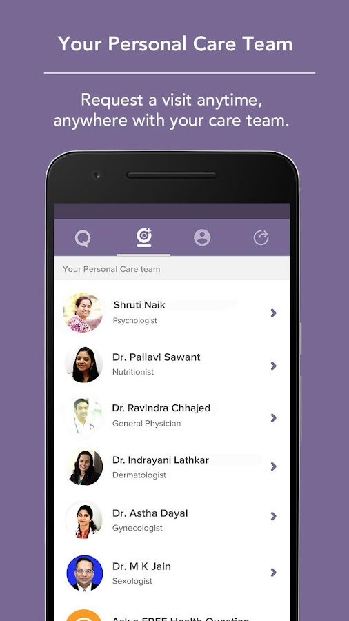 Visit-Free Chat with a Doctor- screenshot