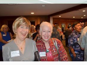 Photo: Carole Shannahoff Wolanow and Nina Lott