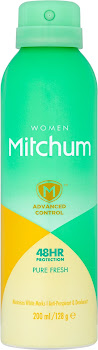 Mitchum Advanced Control Women 48HR Protection Pure Fresh Anti-Perspirant & Deodorant - 200ml