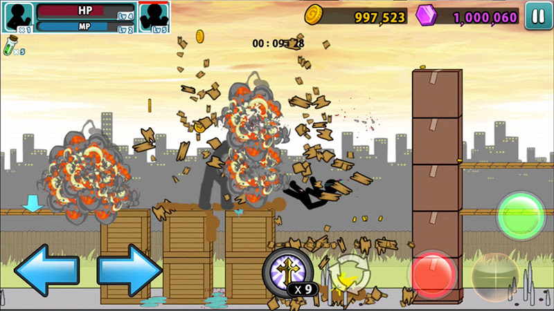 Anger of stick 5 : zombie Screenshot 2