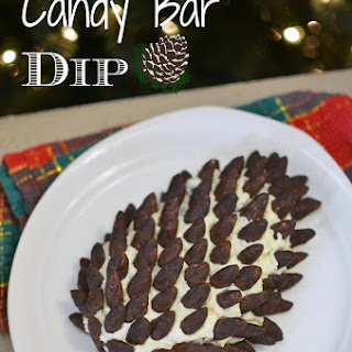 Cocoa Almond Candy Bar Dip