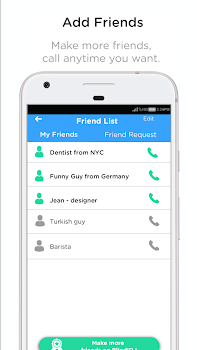 BlindID: Find Friends, Meet New People, Chat