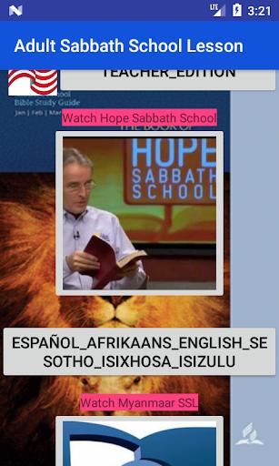Adult Sabbath School Lesson cheat hacks