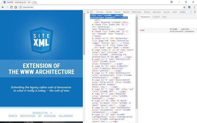 SiteXML Developer Tools