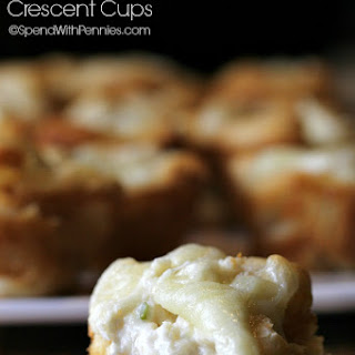 Crab Rangoon Crescent Cups