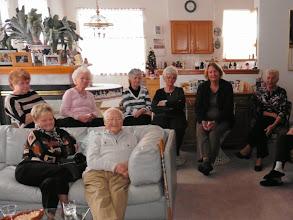 Photo: New Years fellowship at Edith's