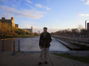 Photo: Matt at the Lachine canal