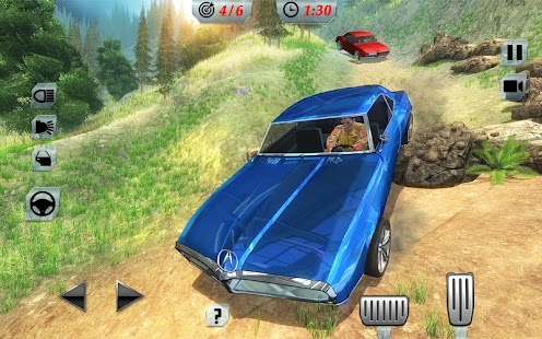 Offroad Classic American Muscle Cars Driving - náhled