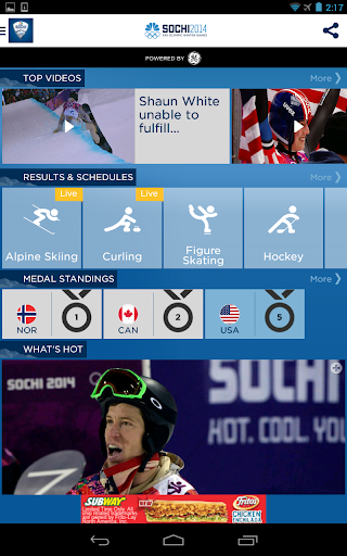 NBC Olympics Highlights screenshot 6