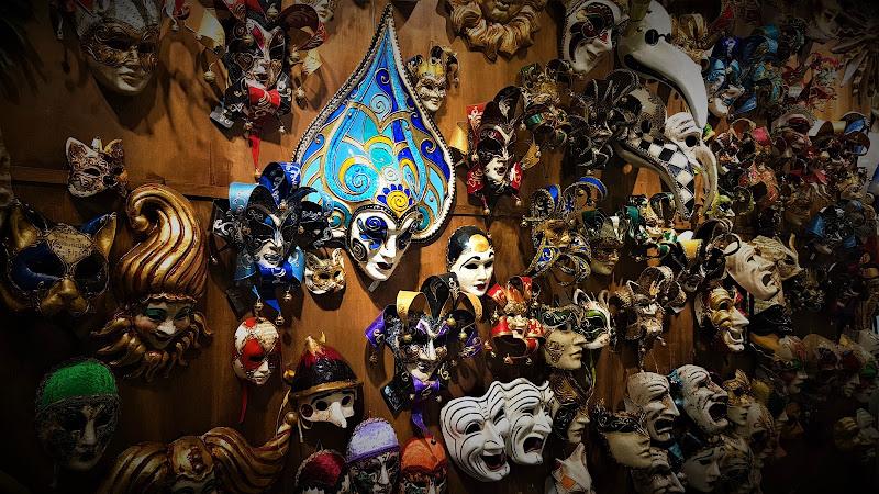 si ho paura delle maschere teatrali di Lale92
