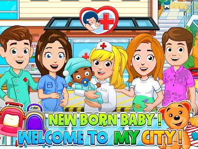 My City : Newborn baby 7