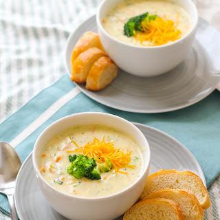 Panera Broccoli Cheddar Soup.