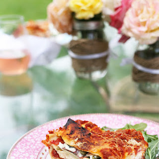 Heirloom Tomato and Greens Lasagna