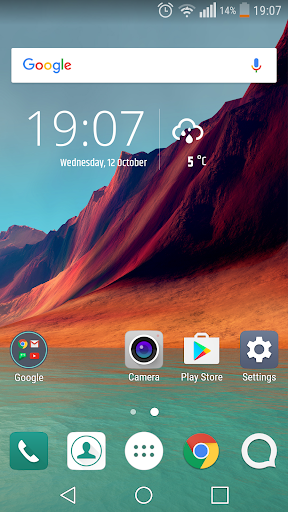 simple weather and clock widget apk