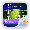SILENCE THEME GO WEATHER EX icon
