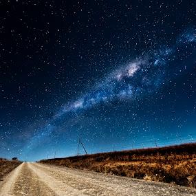The Stars by Kierran Allen - Landscapes Starscapes ( milkyway, stars, kierran allen, nikon )