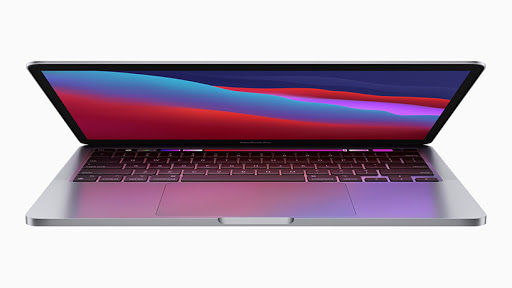 The 13-inch MacBook Pro with the M1 chip.