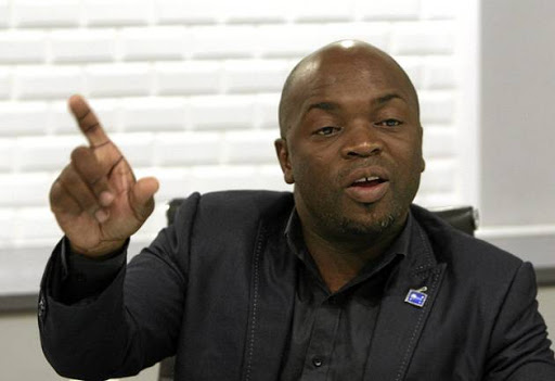 The mayor of Tshwane, Solly Msimanga.