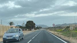 La carretera AL-3201.