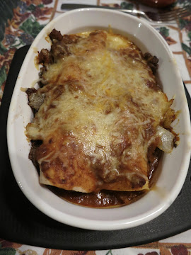 Blondie's Tex-mex Beef Enchiladas Recipe