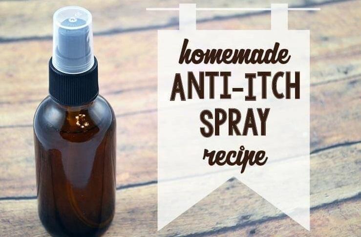 Homemade Anti-Itch Spray