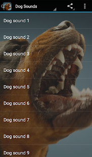 Dog Sounds- screenshot thumbnail