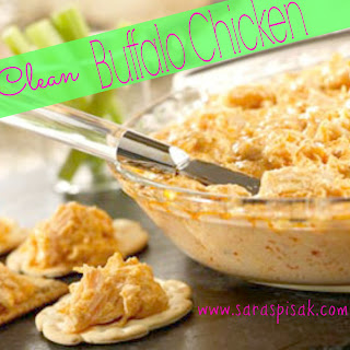 Crock Pot CLEAN Buffalo Chicken — 21 Day Fix Approved.