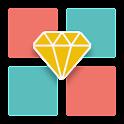 Get Crystal - logic game icon