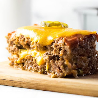 Cheeseburger Meatloaf.