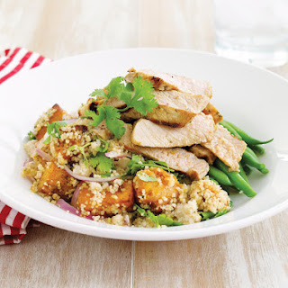 Pork and Roast Squash Couscous.