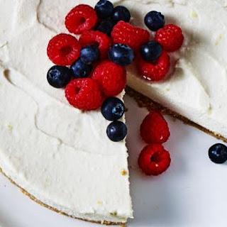 Zesty Tofu Cheesecake