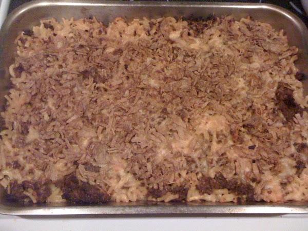 preheat oven to 350 degrees. Take a baking pan, use nonstick spray & spread...