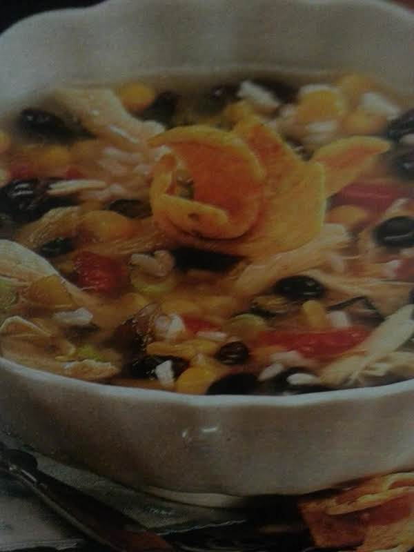 Quick And Healthy Chicken Tortilla Soup Recipe