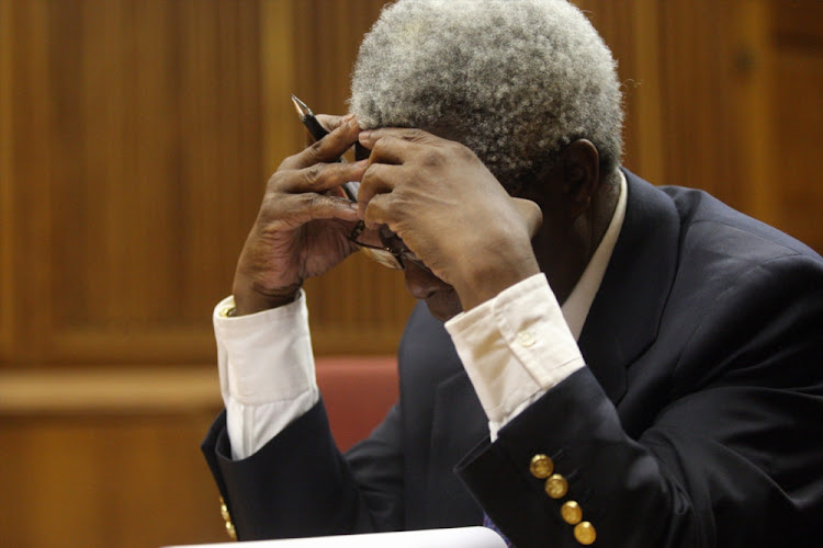 Judge Nkola Motata at the Johannesburg High Court. File photo.