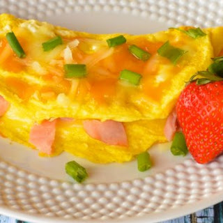 Ultimate Low-Carb Ham and Cheese Omelet  Recipe