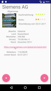LookupShares Demo - náhled