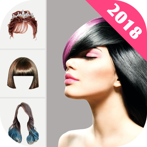 Hairstyle Changer 2018 - HairStyle & HairColor Pro Icon