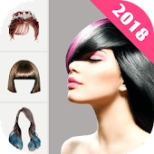 Hairstyle Changer 2018 - HairStyle & HairColor Pro