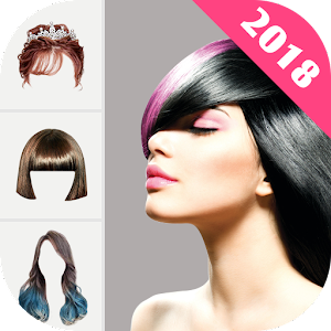 Hairstyle Changer 2018 - HairStyle & HairColor Pro - Android Apps ...