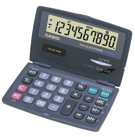 Räknare Casio SL-210TE