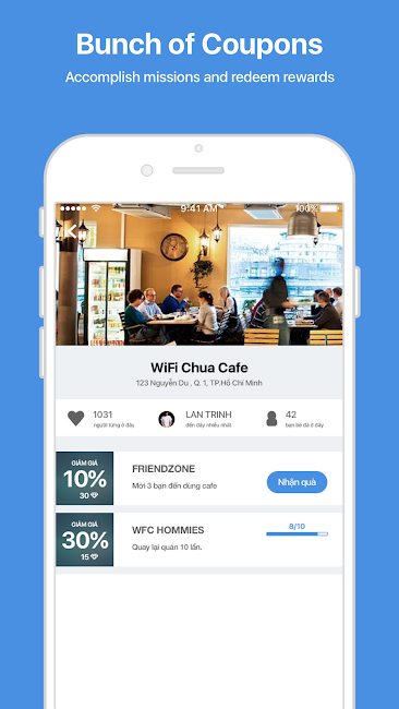 #4. WiFi Chùa - Free WiFi password (Android)