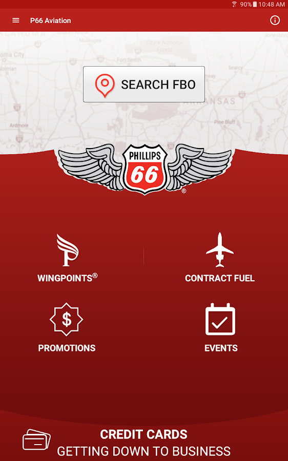 Phillips 66 Aviation- screenshot