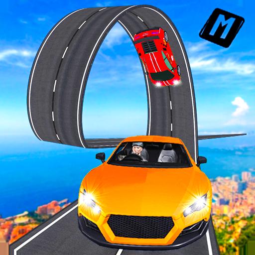 Real Stunt Amazing Car Road Race Top Drive