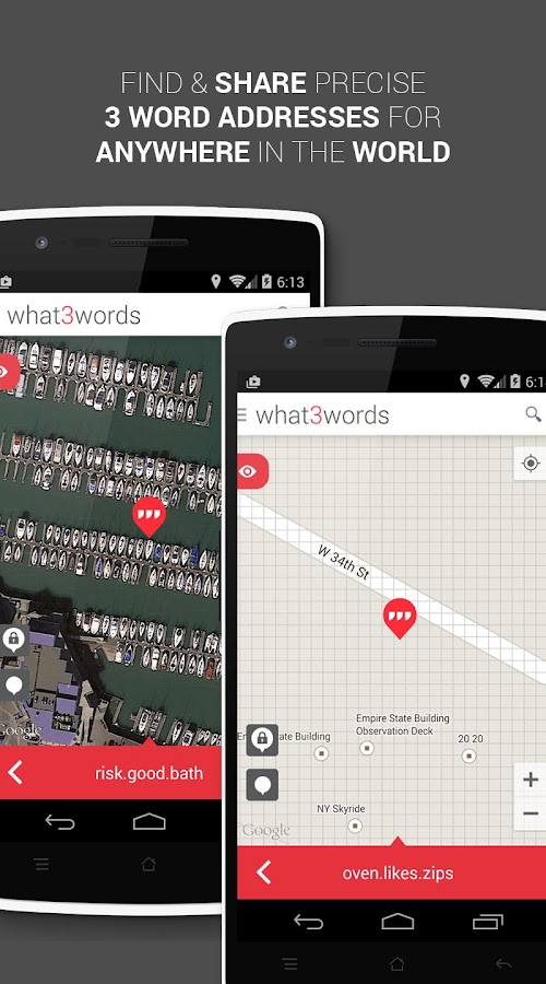 what3words- screenshot