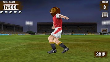 Screenshot of Football Kicks