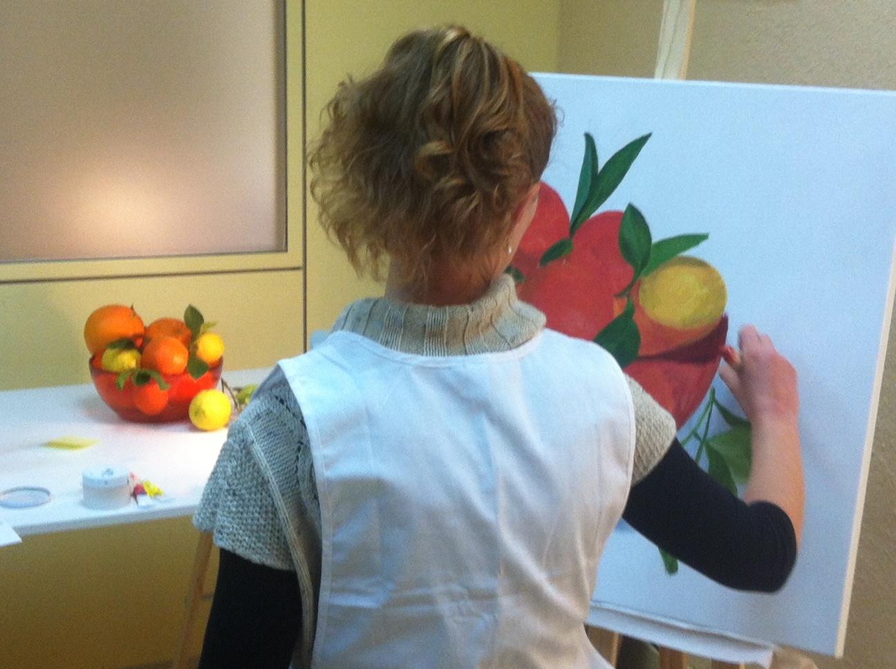 Pintando al natural