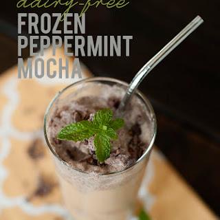 Peppermint Frappe {paleo Frozen Coffee}