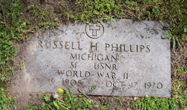 Photo: Phillips, Russell H. (Vet) World War II