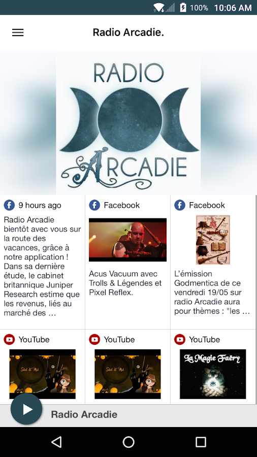Radio Arcadie.- screenshot