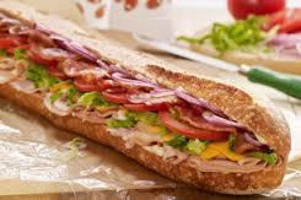 Tailgate Turkey And Ham Club Sub Recipe